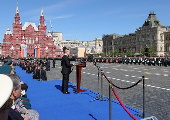 Nga diễu binh mừng Ngày Chiến thắng ảnh 5