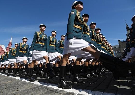 Nga diễu binh mừng Ngày Chiến thắng ảnh 10