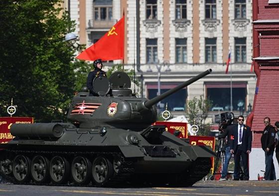 Nga diễu binh mừng Ngày Chiến thắng ảnh 8