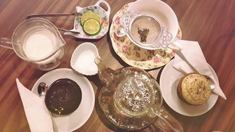 tiệc trà kiểu anh