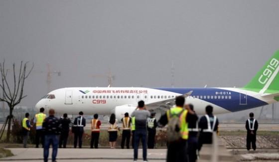 Bắc Kinh kỳ vọng C919 sẽ giúp nâng cao vị thế của họ trên thị trường hàng không thế giới - Ảnh: AFP