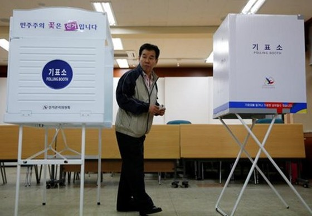 Công dân Hàn Quốc bắt đầu bỏ phiếu bầu Tổng thống ảnh 3
