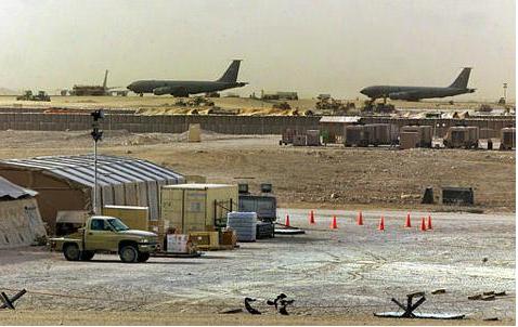 Căn cứ quân sự của Mỹ ở Qatar.