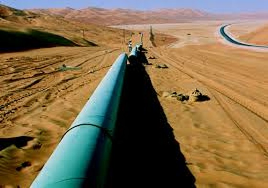Đường ống dẫn dầu Dolphin của Qatar cung cấp 1,8 tỷ m3 khí đốt sang UAE mỗi ngày.