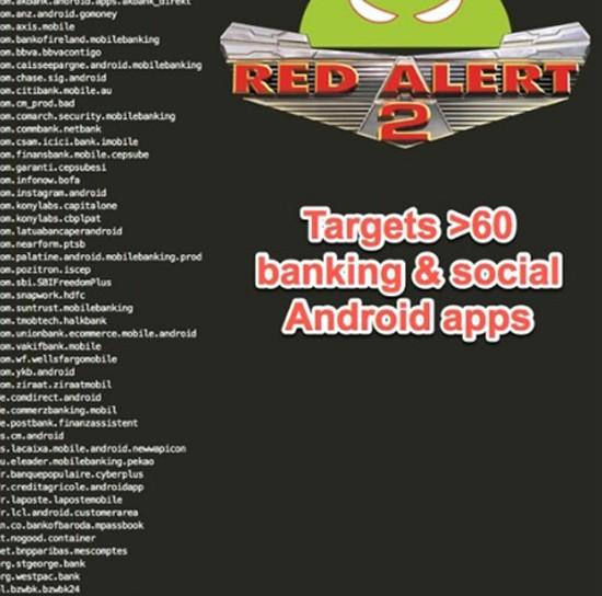 Cảnh báo mã độc Android tấn công ứng dụng ngân hàng trực tuyến ảnh 1