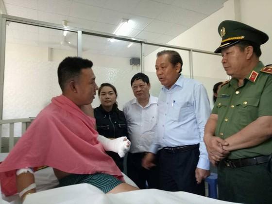 Phó Thủ trướng Trương Hòa Bình thị sát hiện trường vụ cháy Carina     ảnh 3