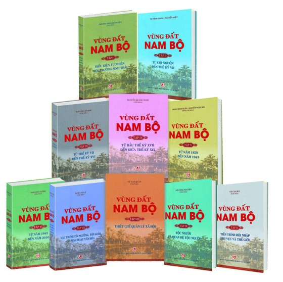 Xuất bản bộ sách đầy đủ nhất về Vùng đất Nam Bộ ảnh 2