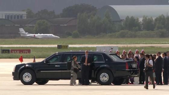 VIDEO: Tổng thống Donald Trump đến Đà Nẵng  ảnh 7