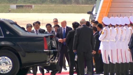 VIDEO: Tổng thống Donald Trump đến Đà Nẵng  ảnh 5