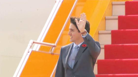 Thủ tướng Canada đã đến Đà Nẵng dự APEC  ảnh 2