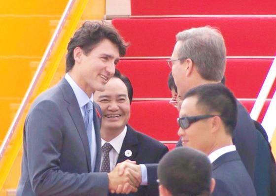 Thủ tướng Canada đã đến Đà Nẵng dự APEC  ảnh 3