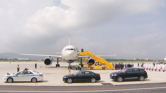 Thủ tướng Canada đã đến Đà Nẵng dự APEC  ảnh 9