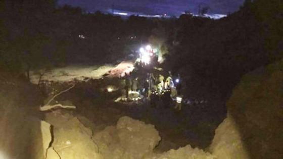 Hoà Bình sập nhà do lở núi, khoảng 20 người bị vùi lấp ảnh 2