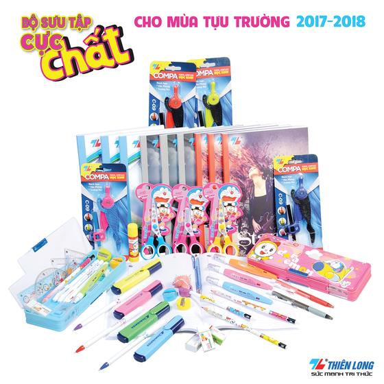 Thiên Long sẵn sàng phục vụ cho  mùa tựu trường 2017-2018 ảnh 3