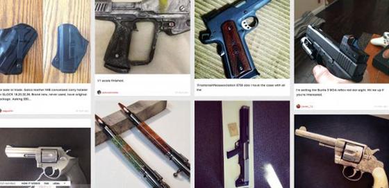 Mối nguy từ chợ đen vũ khí trên mạng  ảnh 1