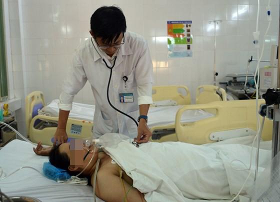Bệnh nhân Ng. được phẫu thuật thành công