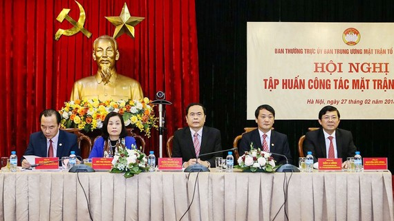 Ủy ban Trung ương MTTQ Việt Nam cho biết sẽ đẩy mạnh công tác giám sát, phản biện