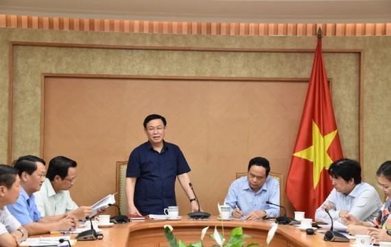Phó Thủ tướng Vương Đình Huệ làm việc với Ủy ban TƯ MTTQ Việt Nam