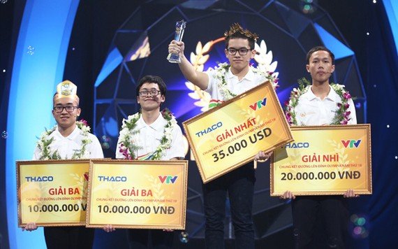 4 thí sinh thi chung kết
