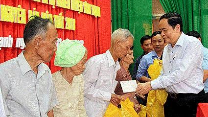 Mặt trận có nhiều hoạt động ủng hộ người nghèo