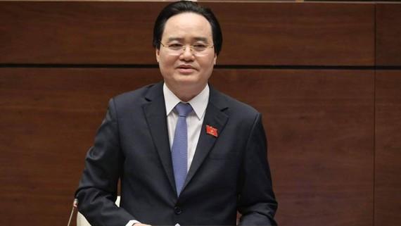 Bộ trưởng Bộ Giáo dục-Đào tạo Phùng Xuân Nhạ