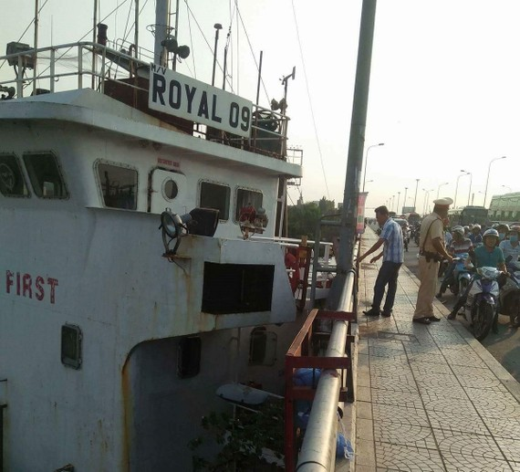 """Đã xác định nguyên nhân tàu chở hàng """"khủng"""" va vào cầu Đồng Nai"""