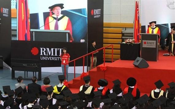 RMIT graduation ceremony (Photo: VNA)
