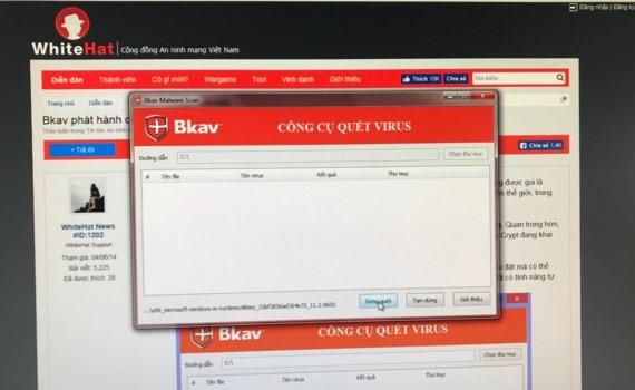 Bkav issues device against dangerous virus WannaCry gratis