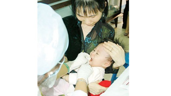 Five million neonates will get vitamine A (Photo: SGGP)
