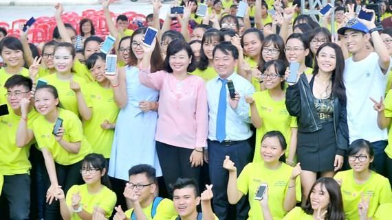 Participants of the campaign (Photo: SGGP)