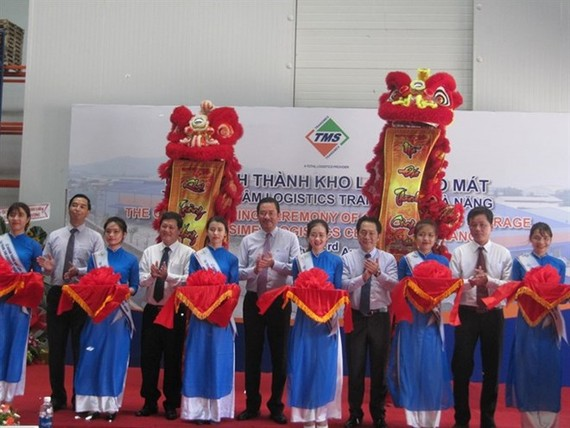Transimex Corporation launches the first cold storage in Da Nang city (Photo: VNA)