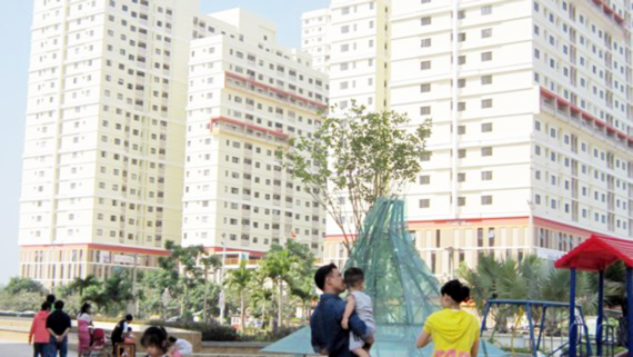 HoREA petitions the State Bank of Vietnam to offer housing credit stimulus package to directly support buyers of social and commercial houses with the price of VND1 billion (Photo: SGGP)