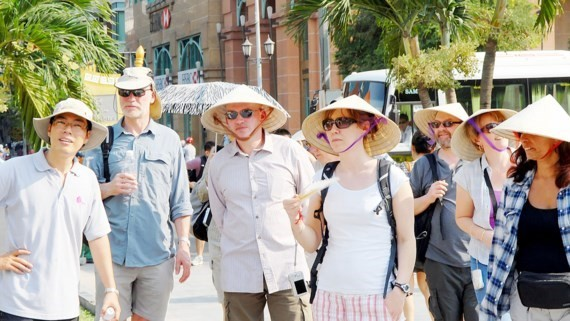 International visitors in Vietnam (Photo: SGGP)