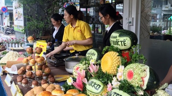 First cuisine center opens in HCMC