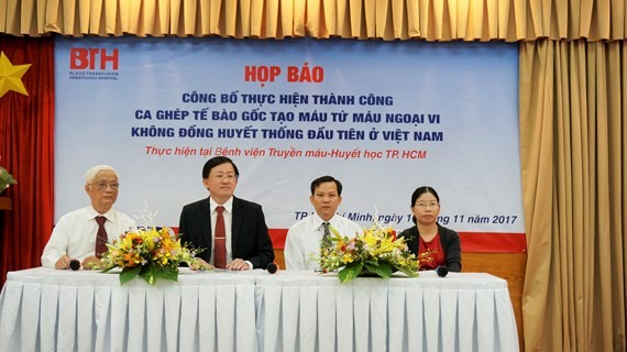 At the press brief about the operation (Photo: SGGP)