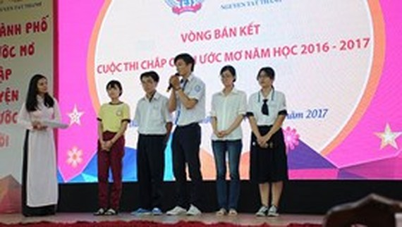 Giving wings to dream contest for high school students