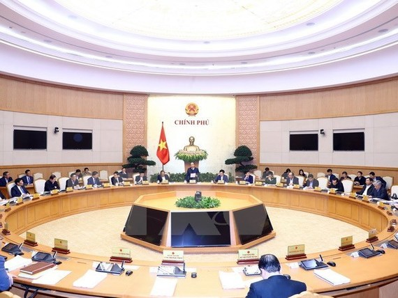 An overview of the Cabinet meeting (Source: VNA)