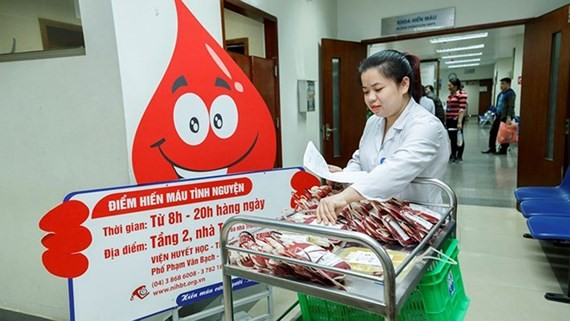 Vietnam to establish National Blood Center
