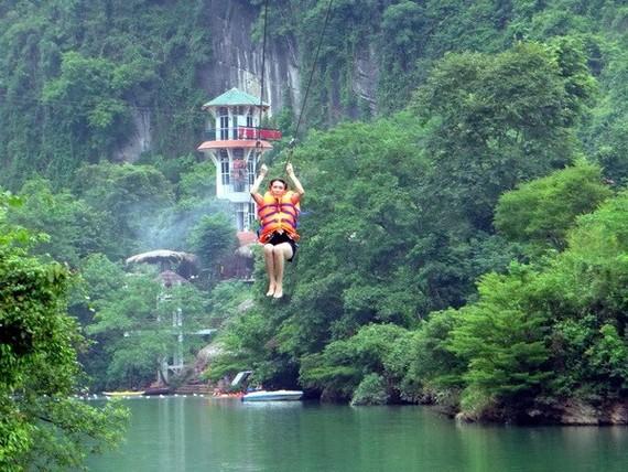 At Phong Nha - Ke Bang national park in Quang Binh (Source: VNA)