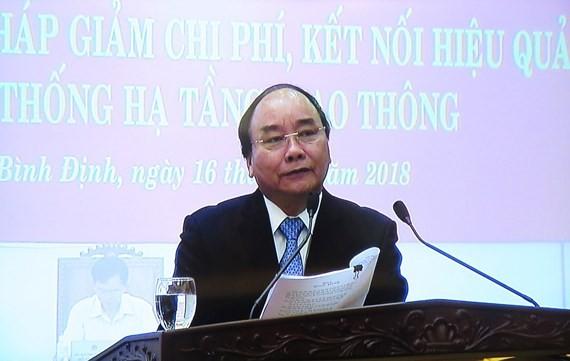 PM Nguyen Xuan Phuc at the meeting (Photo: SGGP)