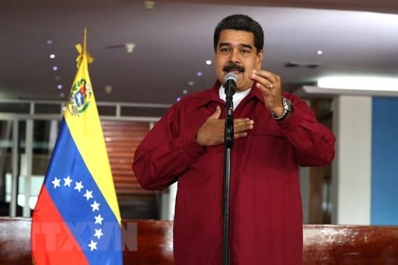 Venezuelan President Nicolas Maduro (Photo: EPA-EFE/VNA)