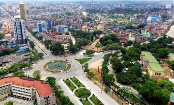 Thai Nguyen City (Photo: VNA)