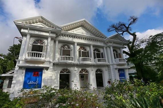 The building designated for artist Le Ba Dang (Photo: VNA)