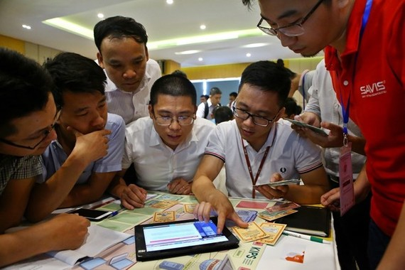 A drill on cyber security was held in Da Nang city on June 29 (Photo: VNA)
