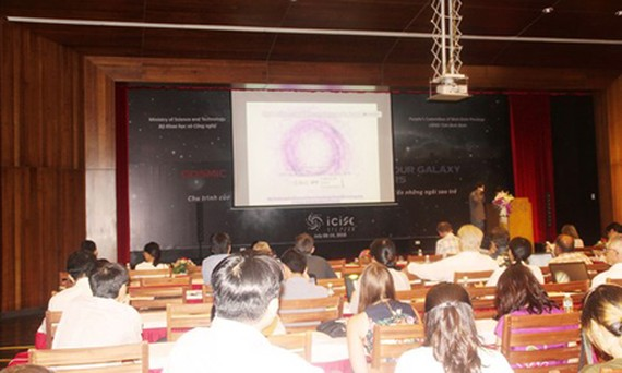 The international conference on astronomy is taking place in ICISE