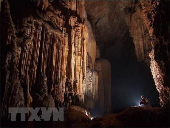 A cave at the park (Source: VNA)