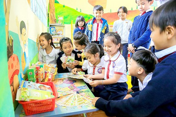 A Friendly Library for primary pupils in Lam Dong Province