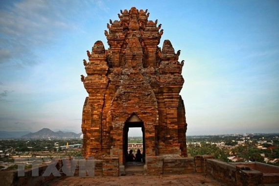 Po Klong Garai tower in Ninh Thuan province (Photo: VNA)