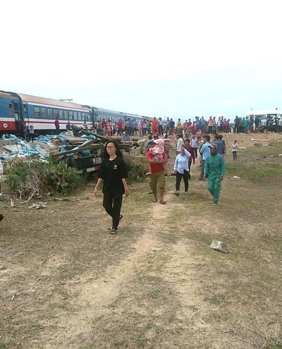 North-South railways paralyzed as train crashes salt truck