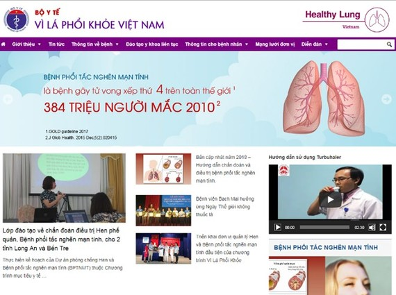 """Health ministry launches """"Healthy Lung"""" portal"""